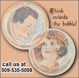 think outside the bubble