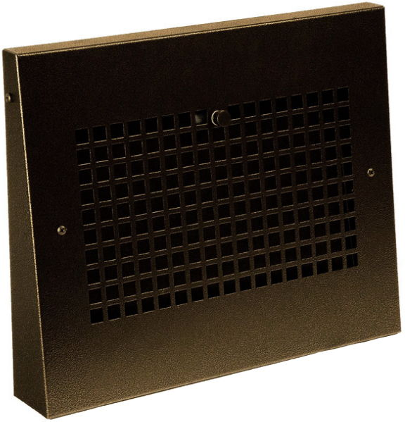 grid oil rubbed bronze baseboard air vent