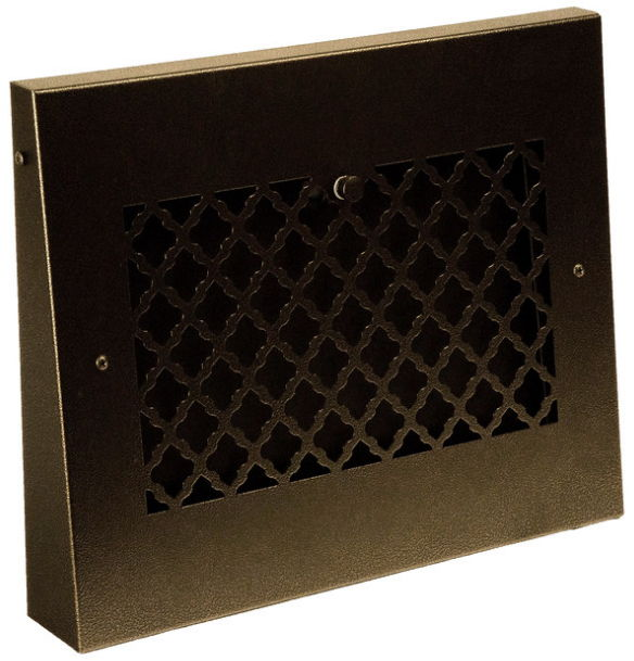 oil rubbed bronze baseboard grille