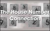 metal house number